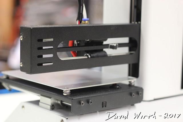 setup 3d printer, first print