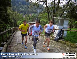 ascenso a Monserrate en Bogotá
