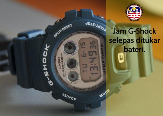 Cara Mudah Bagaimana Untuk Tukar Bateri Jam G-Shock Anda  0c43df8157