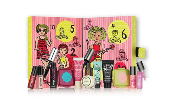 Benefit Cosmetics 2016 advent calendar