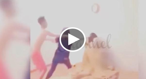 Video Wanita maraung dibelasah isteri kekasih