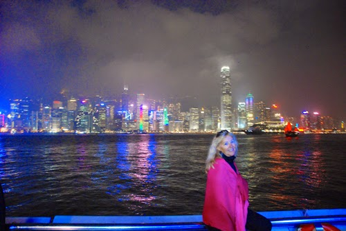 Pat Dunlap Enjoying Wonderful Hong Kong china