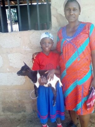 Nigerians Doing The Most: Best Student Receive Goat As Award