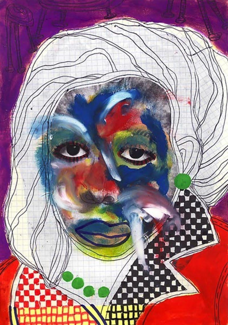 Mixed Media Art by Claudio Parentela from Italy.