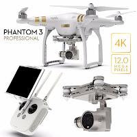 Jual Drone DJI Phantom 3 Professional Minat Hub 08128222998