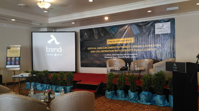 TRENDI, First Smartphone For Hotel In Malaysia