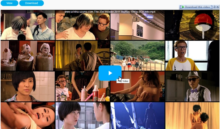 Screenshots Movie The 33D Invader (2011) BluRay 1080p 720p 6CH MKV