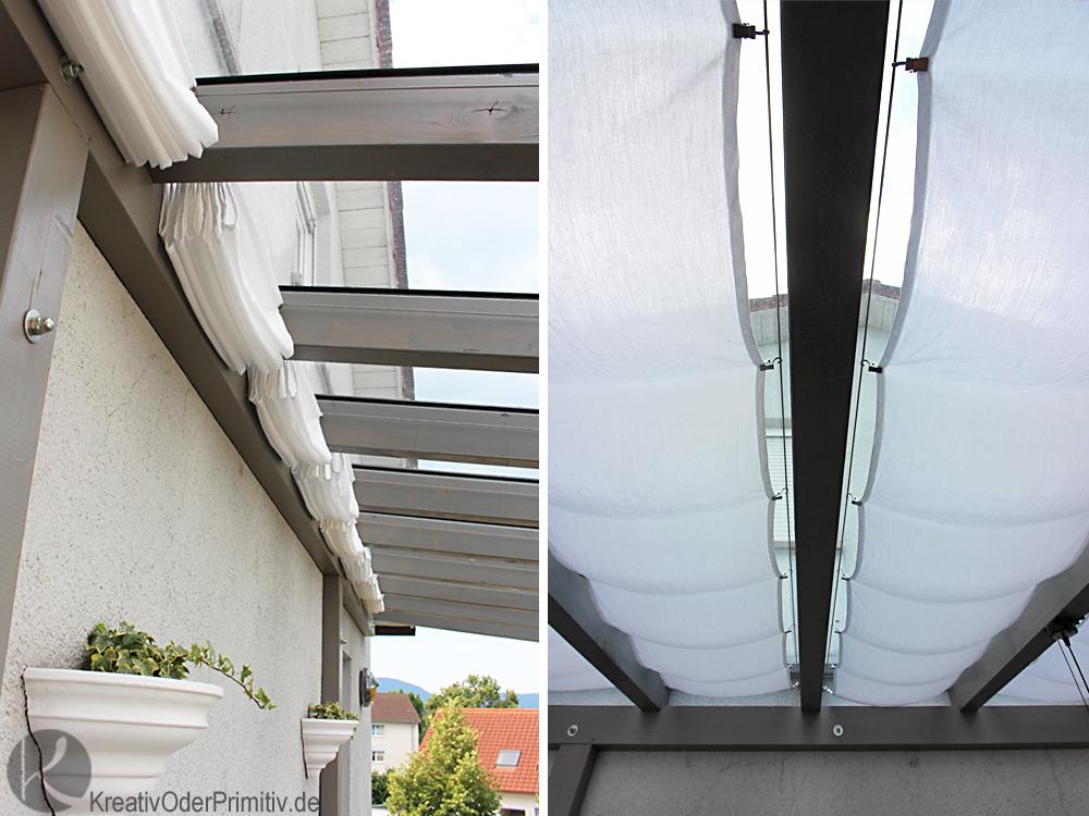 Kreativ oder Primitiv?: Sonnensegel Balkonbeschattung – Teil 1 ...