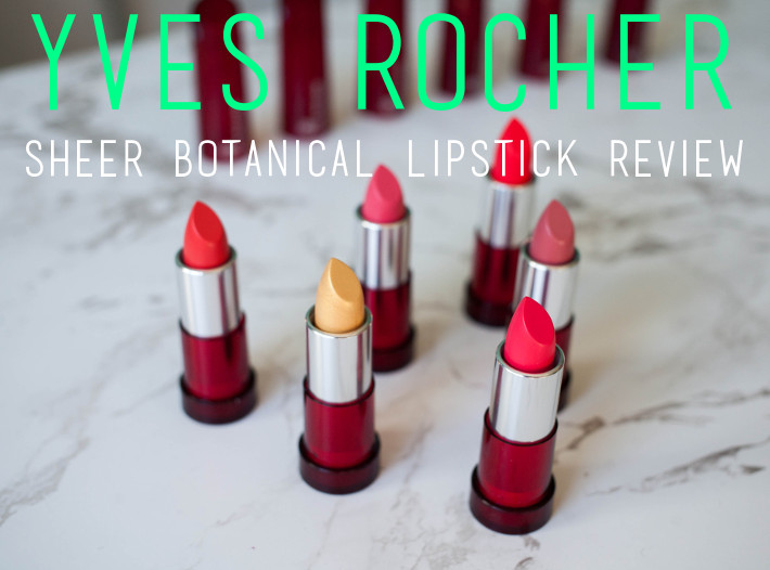 Beauty: Yves Rocher Cherry Oil Lipstick new ss2016 colours