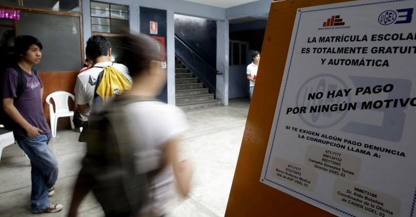INDECOPI: Guía te advierte lo que está permitido o prohibido en los colegios - www.indecopi.gob.pe