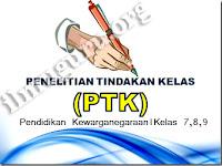 Download Contoh PTK PKn SMP/MTs Kelas 7,8 dan 9