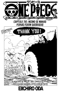 One Piece 785 Mangá - Português