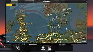 Menu Map in colors