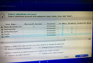 Mengatasi Lupa Password Windows 10 Dengan Windows Password Recovery