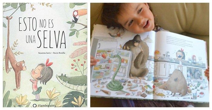 cuentos infantiles desarrollar fomentar empatia niños, esto no es una selva susanna isern rocio bonilla