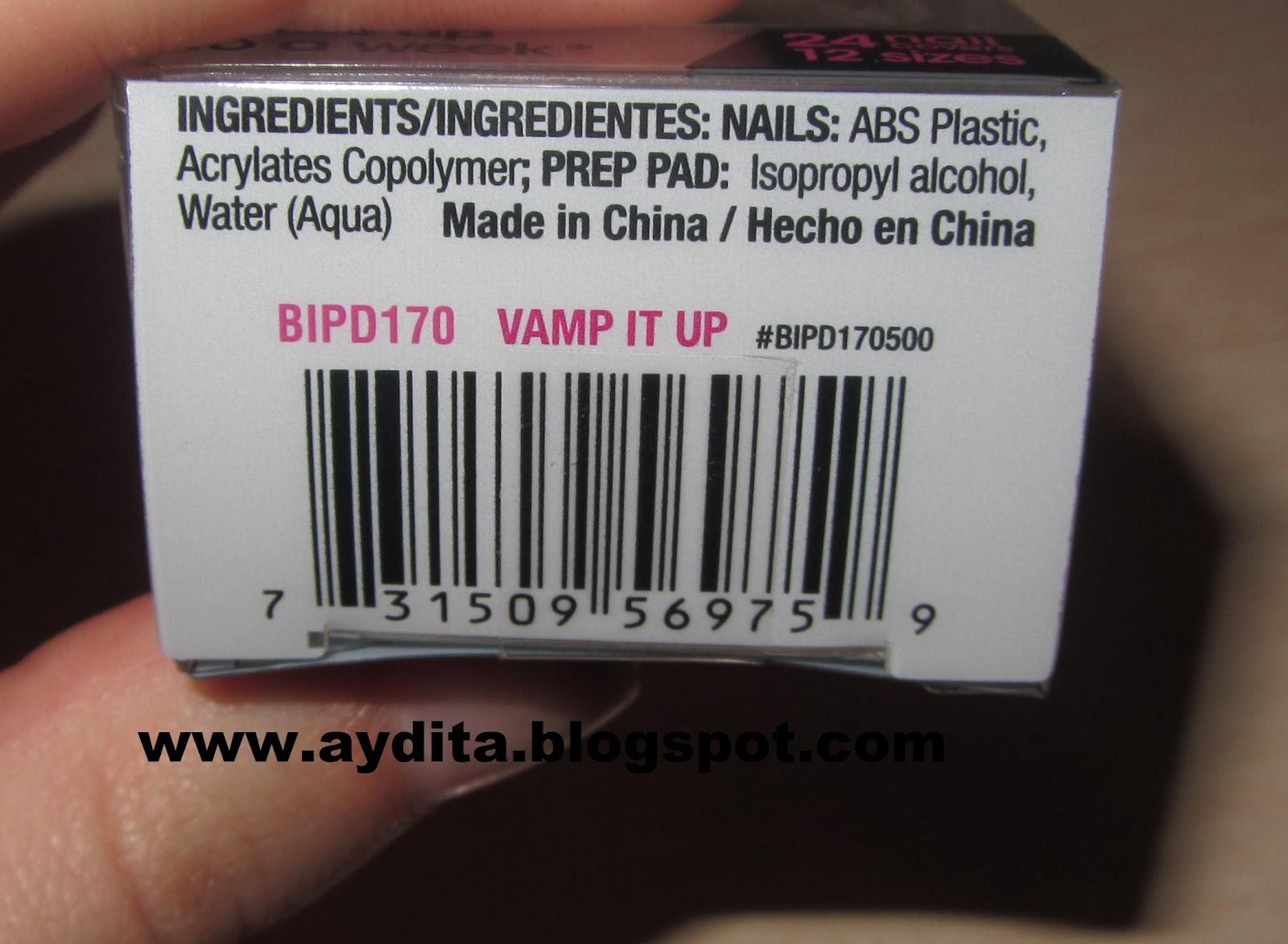40ee03aa6f La caja sorpresa del maquillaje  Manicura ImPress Vamp it up.