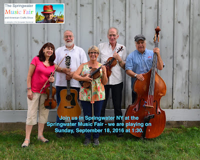 Double Header Weekend - Kettlefest and Springwater Music Fair - September 17 and 18, 2016