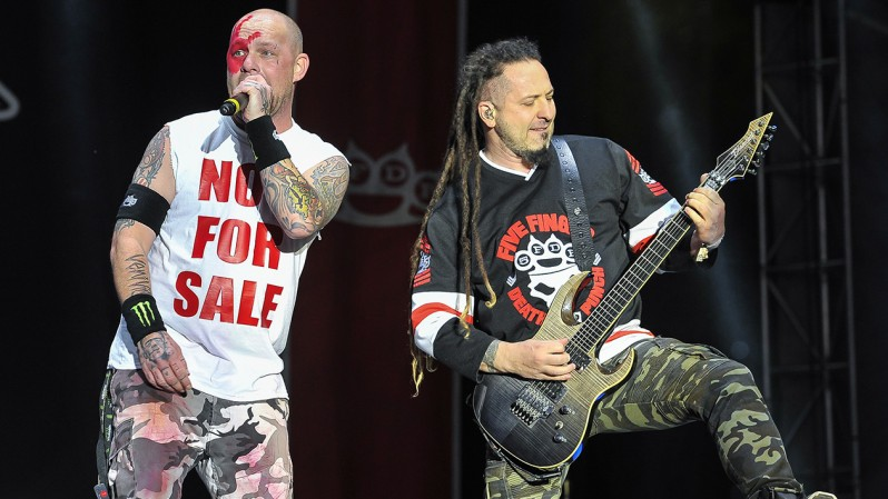 NOT FOR SALE Five Finger Death Punch Ivan Moody shirt. PYGear.com