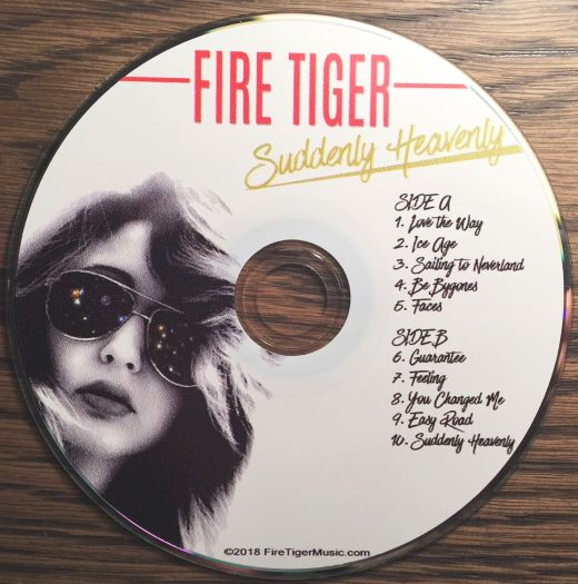 FIRE TIGER - Suddenly Heavenly (2018) cd