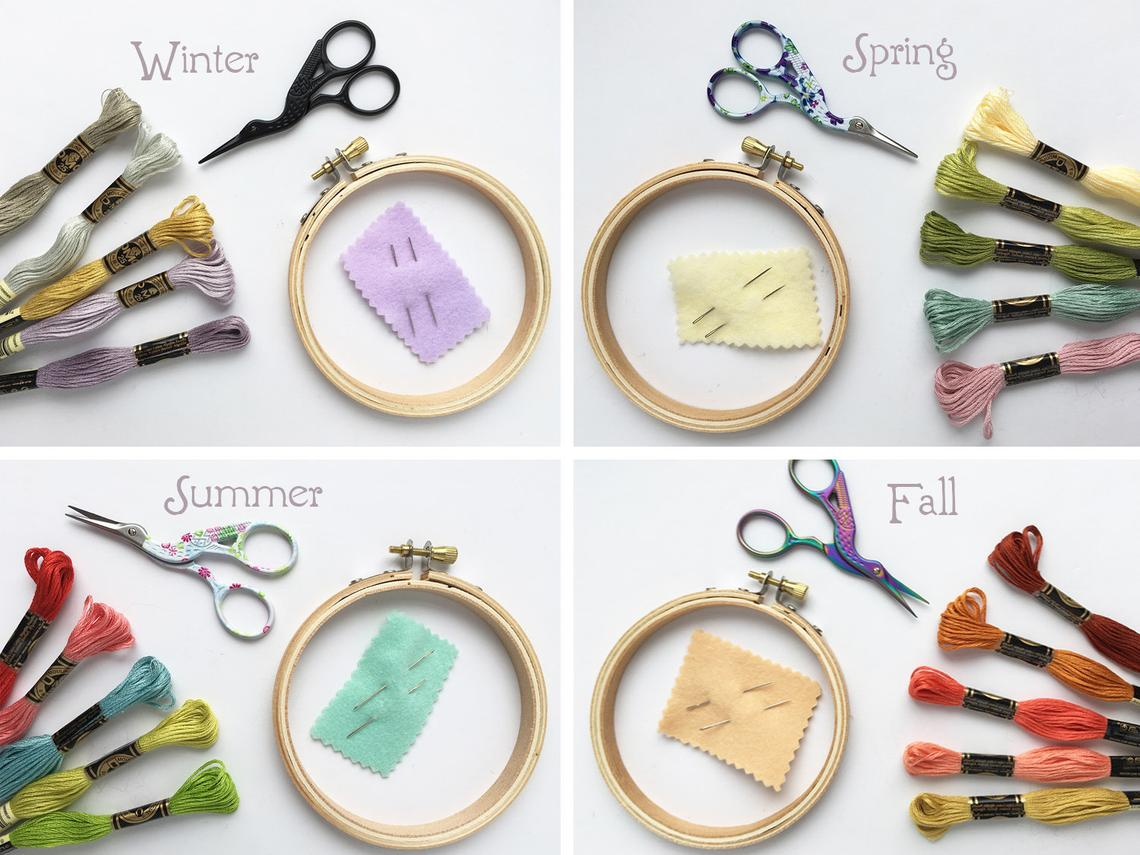 Wonderful Wednesday 68 Little Dear Aimee Ray Sewing Kits as featured by floresita on Feeling Stitchy