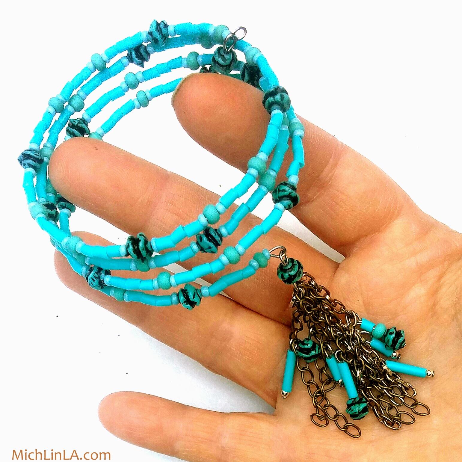 Mich L In L A Colorful Q Tip Bracelets