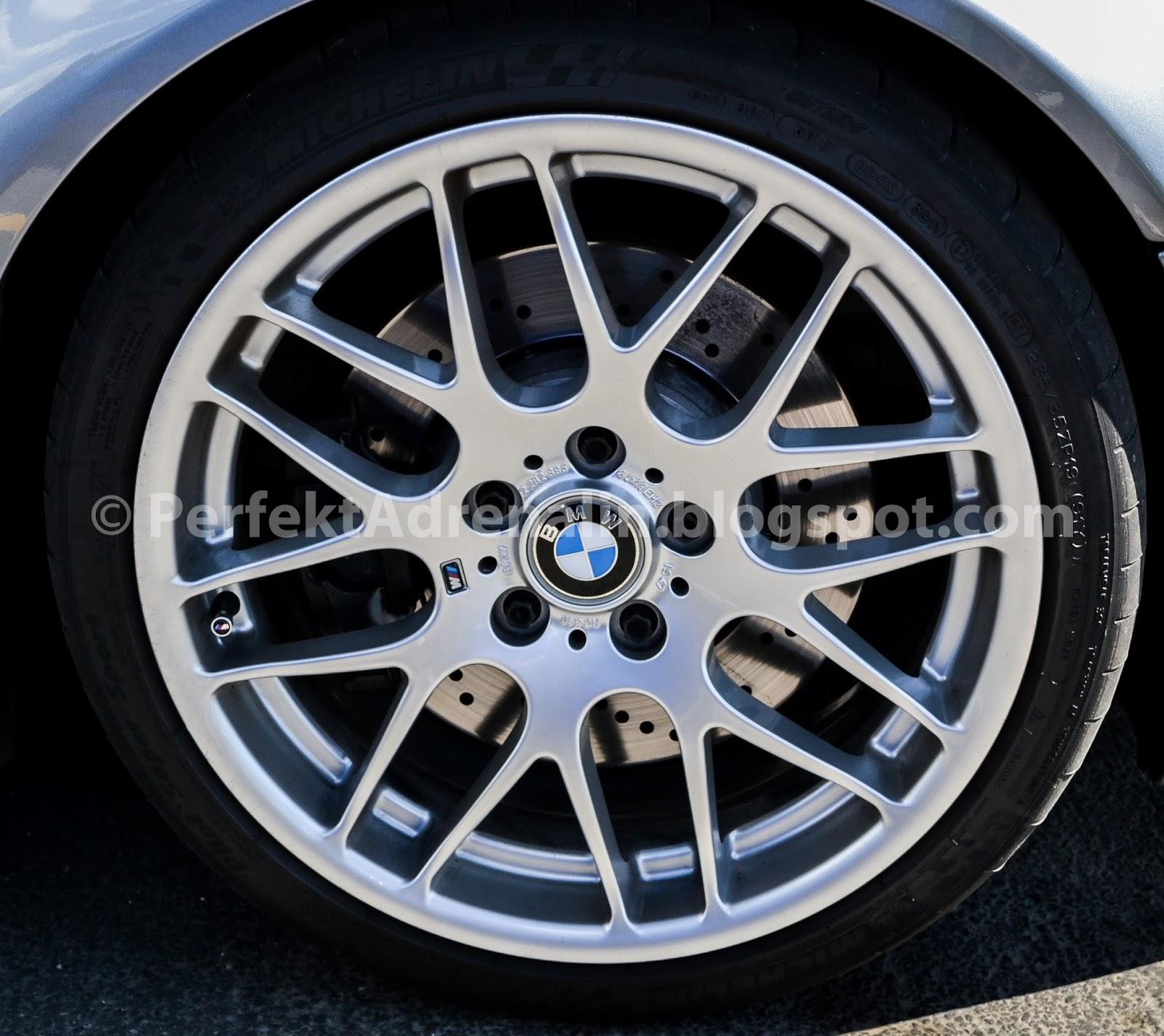 """PerfektAdrenalin: BMW E46 M3 Competition (ZCP) 19"""" Wheels"""