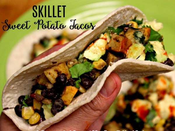 Skillet Sweet Potato Tacos