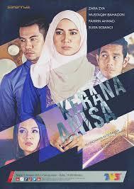 Drama Kerana Anisa Episod 10 - Siapa Amelia..Kekasih Syukri Ke?
