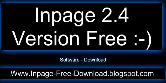 Inpage Free Download 2004
