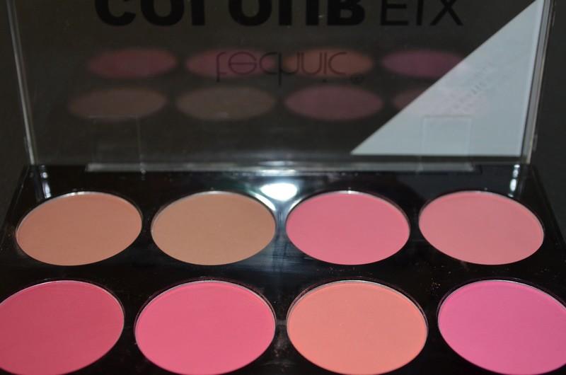 La blush palette Technic Colour Fix review