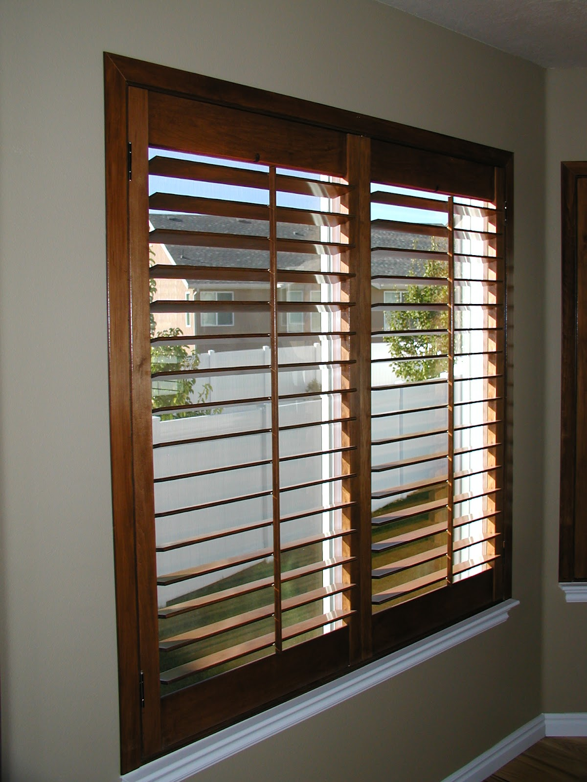 Stanfield Shutter Co Autumn Plantation Shutters