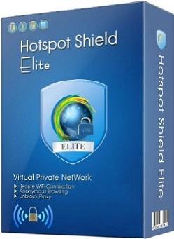 Hotspot Shield VPN Elite 7.20.8 poster box cover