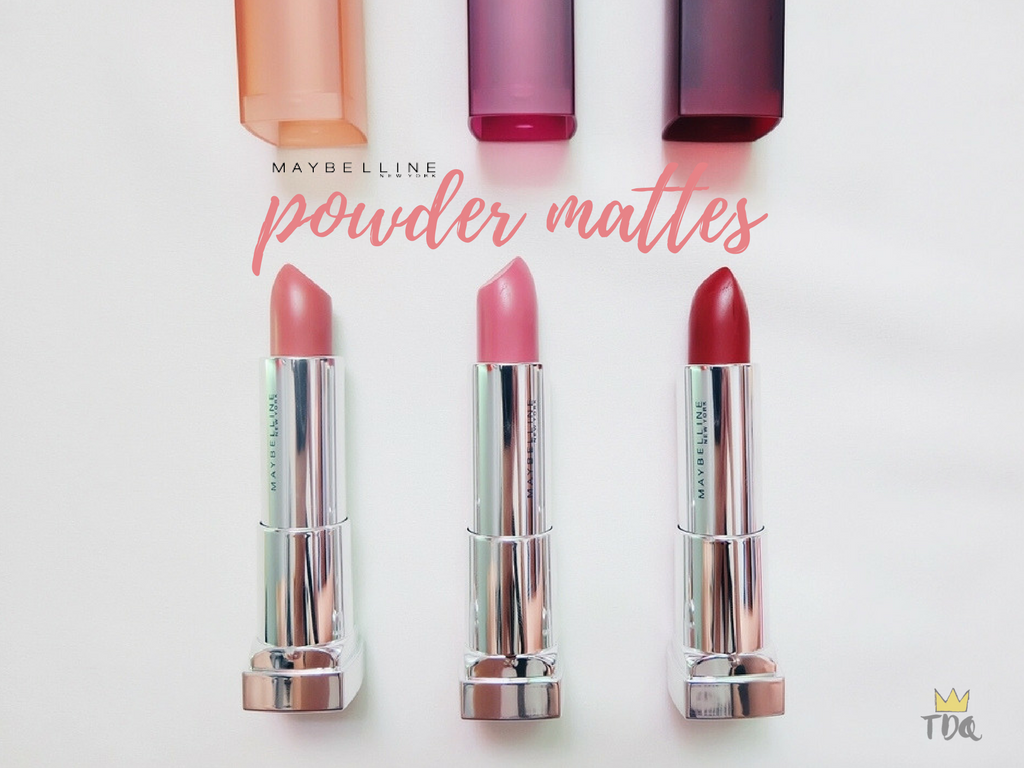 Maybelline Powder Mattes Review & Swatches