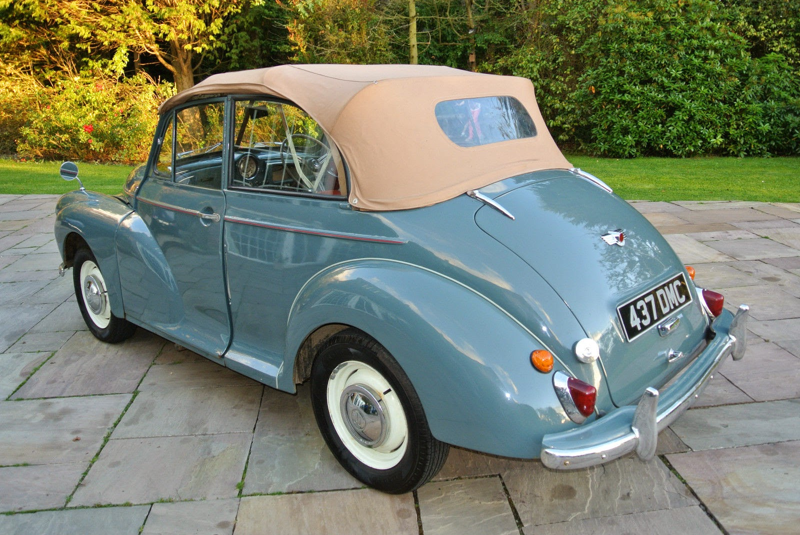 1955 Morris Minor Convertible Auto Restorationice