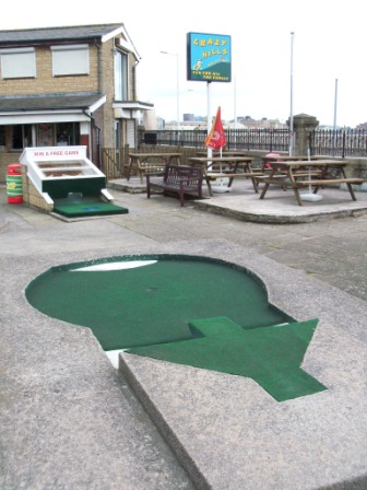 The Arnold Palmer Putting Course in Weston-Super-Mare