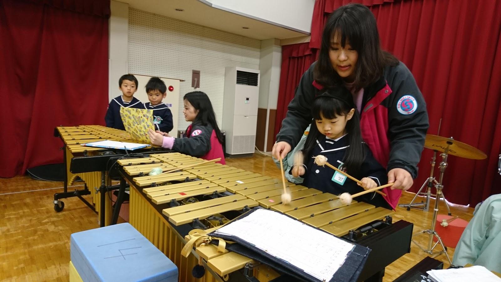 せいか幼稚園BLOG: 5歳児 音楽会練習を通して願うこと