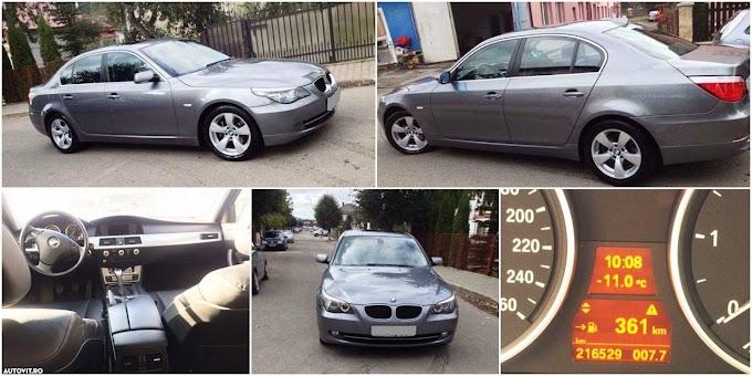 ANUNȚ: Vând BMW Seria 5, 520d 177 CP