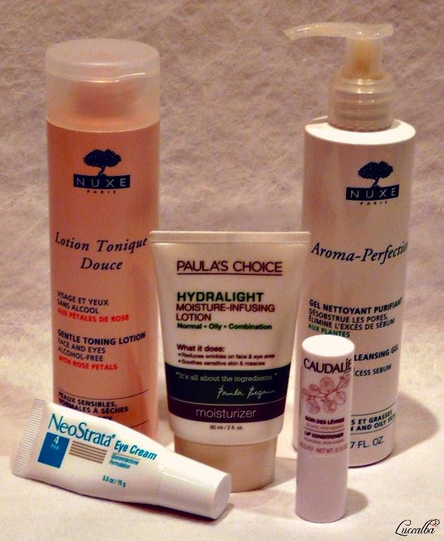 Productos para mi rutina facial diurna