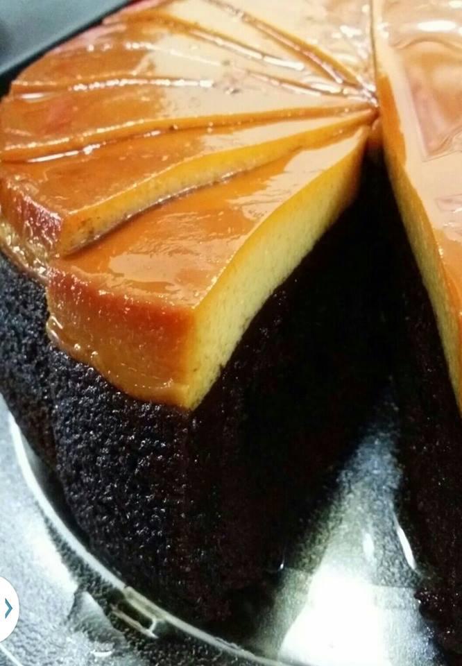 Hidangan Resepi kek karamel coklat - Foody Bloggers