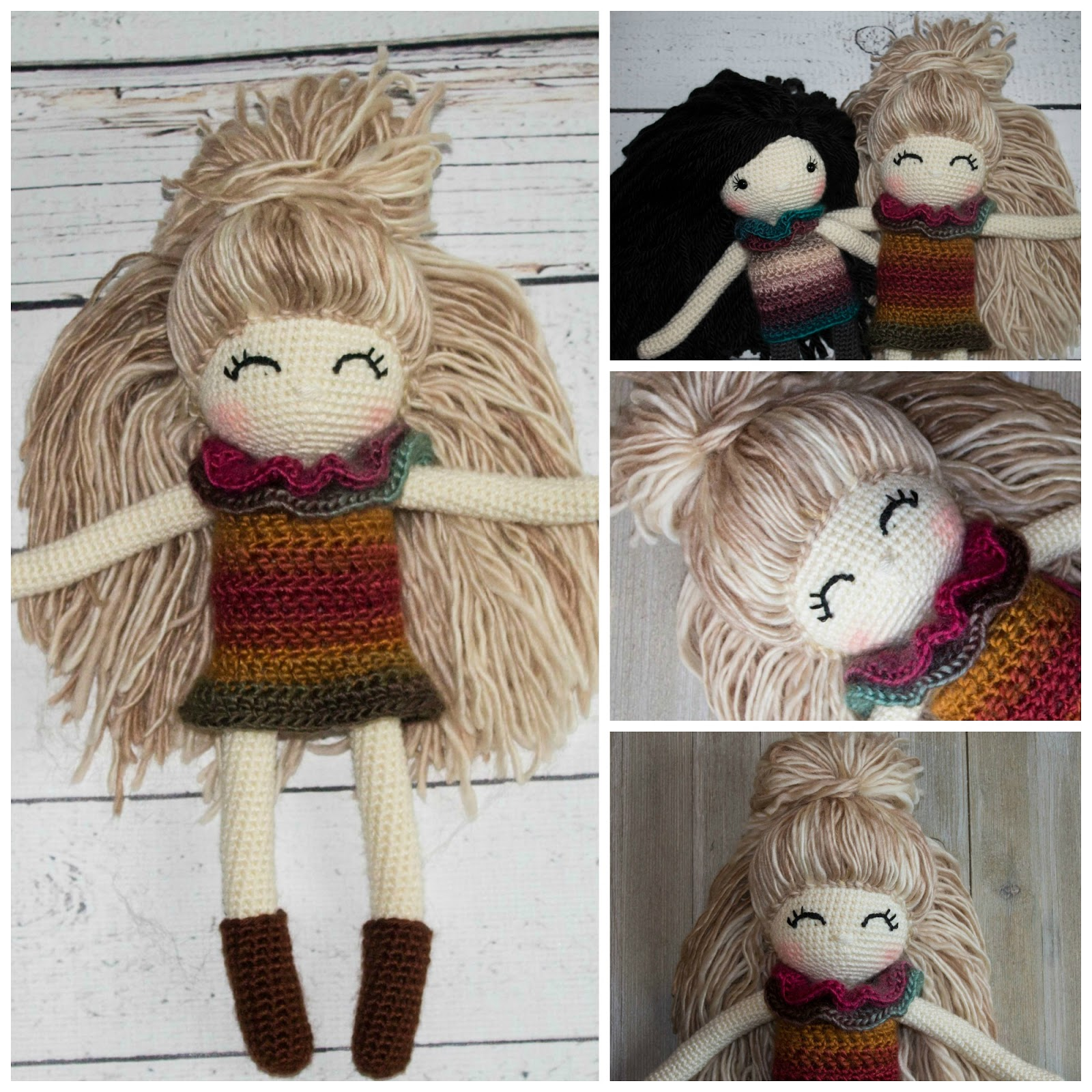This Pattern is for Amigurumi Doll. Size Hooks used are 1.00MM for Fingers  then switch over to 2.…   Crochet doll pattern, Crochet dolls free  patterns, Crochet eyes   1600x1600