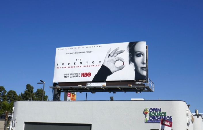 Inventor documentary billboard