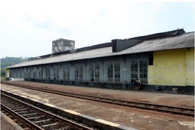 Stasiun Kereta Api Banjar lama
