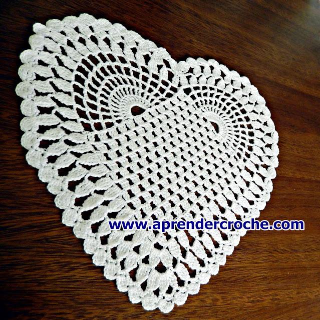 aprender croche toalhas toalhinhas coração web cursodecrochegratis loja dvd edinir-croche