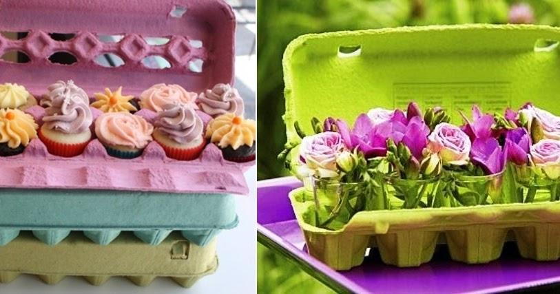 11 maneiras de reaproveitar caixas de ovos - Amando Cozinhar ...