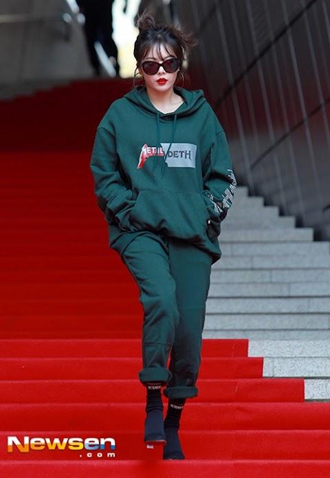 ✰PHOTO✰ Hyuna na Seoul Fashion Week HEICH ES HEICH