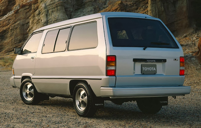 Toyota Van from North American market