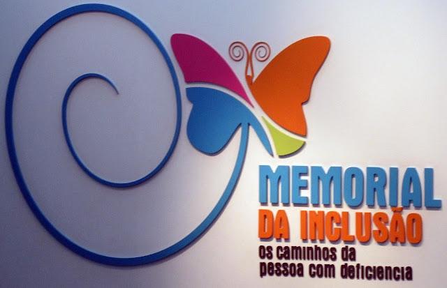 """Resultado de imagem para """"Memorial da Inclusão: Os Caminhos da Pessoa com Deficiência""""."""