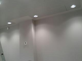 instalación de luces