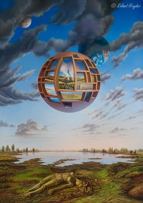 13-Windows-Roland-Heyder-Surreal-Oil-Paintings-on-Canvas-www-designstack-co