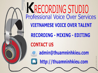 Vietnamese Voice Over Talents